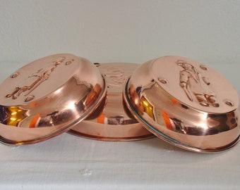 Vintage Swedish Copper Molds