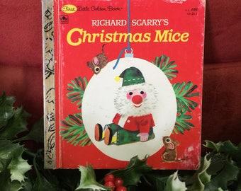1965(c) Richard Scarry's Christmas Mice book