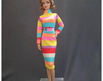Skirt for Barbie,Muse barbie,LIV dolls, FR, Silkstone - No.0518