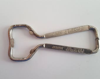 Vintage advertising bottle opener Drink Pepsi-Cola, double sided very nice condition, new old stock 1950's