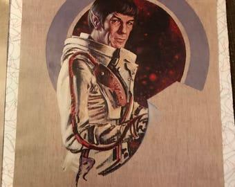 1976 STAR TREK Spock Print- Kelly Freas