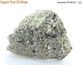 ON SALE Pyrite Semi-rough Mineral 6-7oz