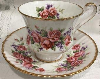 Vintage  Bone China Tea Cup & Saucer  - English - Paragon