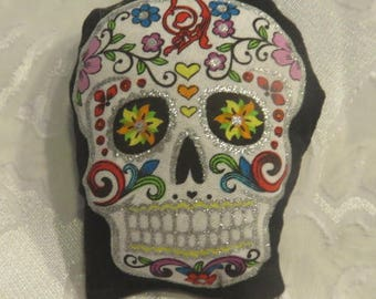 Sugar Skull Day of the Dead 100% Catnip Toys FREE SHIPPING no Fillers
