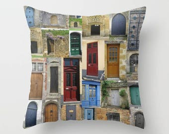 cushion, cushions, cover,covers, in, brown, beige, maroon, blue, green, doors,door, art, prints, print, on, case, cover, chic, for,couch,art