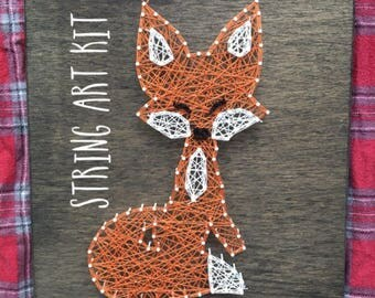 Fox String Art Kit