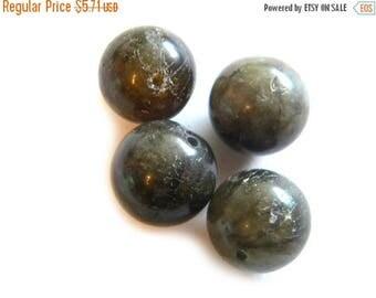 HALF PRICE 4mm Labradorite 14mm Beads