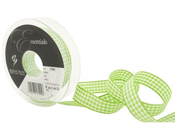 3 M tape 10 mm Green gingham 664