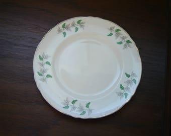Crown Staffordshire grape vine salad plate