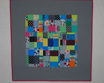 "Wall Hanging - Little Dipper  28"" x 28""  Featuring OOP Kaffe Fassett fabric"