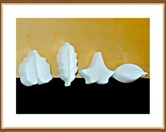 Leaf Soap, Goat Milk Soap, Unscented Soap, Scented Soap, All Natural Soap, 4-Pack