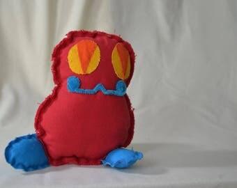 Handmade Canvas Monster