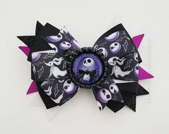 Nightmare before christmas ribbon | Etsy