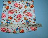 Strawberry Shortcake,Huckleberry Pie, 1 Yard and 18 Inches of Fabric,Cotton Quilting,Pupcake, Custard Cat, Fabric,80's Characters,