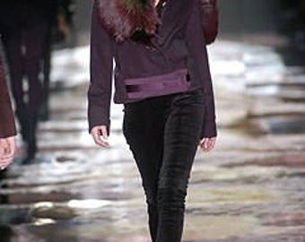 Tom Ford for Gucci Jacket with Fox Fur