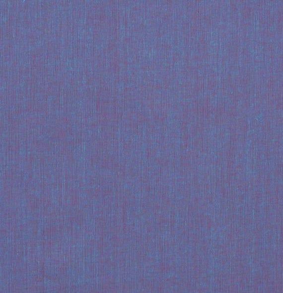 SHOT COTTON Blueberry Blue SC88 Kaffe Fassett Sold in 1/2 yard increments
