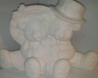 Irish Cuddle Bears, Larger Size