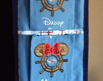 Personalized Custom made Fish Extender 1,2,3,4,5 or 6 pockets