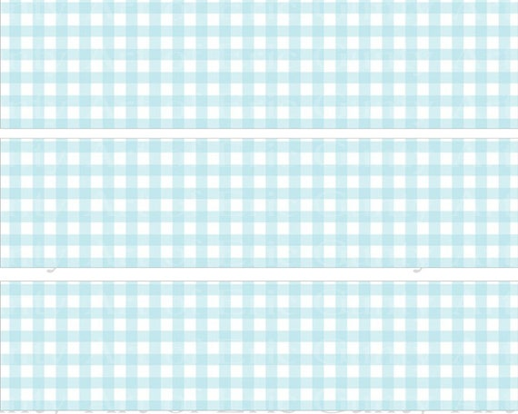 Baby Boy Baby Shower Birthday - Designer Strips - Edible Cake Side Toppers- Decorate The Sides of Your Cake! - D22792