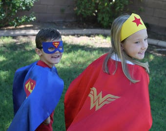 BOYS Super Sale on Super Hero Capes - Halloween/Dress up - CAPE ONLY