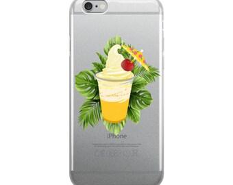 Disneyland Dole Whip  Hawaiian Luau Tiki Room iPhone 6, 6 Plus, 7, 7 Plus, 8, 8 Plus and iPhone X Case - All Sizes