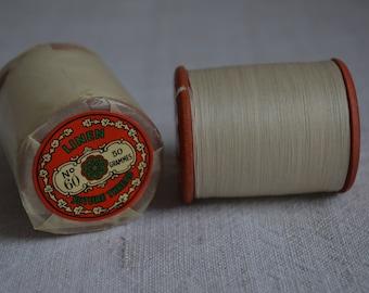Spool of antique Barbour's Irish Linen thread no 60