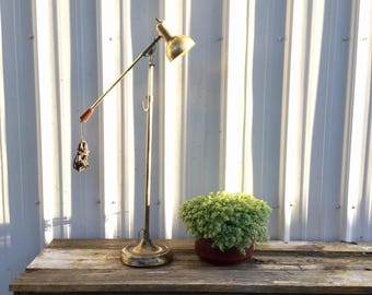 Vintage Industrial Swing Arm Desk Lamp