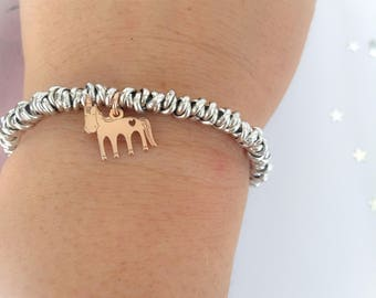 Dream Big - Unicorn bracelet with aluminum knot