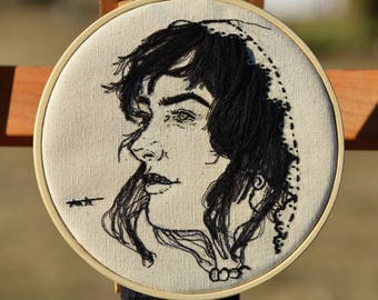 Corinthian, 6in Hand Embroidery