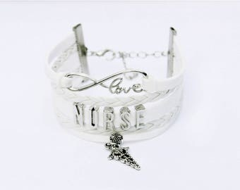 Nurse Bracelet | Nurse Jewelry | Nursing Student Gift | Nursing Graduate Gift | Nurse Gift | Nurse Appreciation Gift | Nurse Graduation Gift
