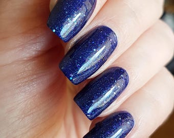 Starry Skies~Out Of Space Collection Blue Purple Shimmer Holo 10ML