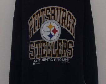 Vintage 1995 Pro Line Pittsburgh Steelers Sweatshirt by Russel Atheltic Apparel