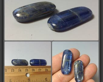 Kyanite from India/ 2 pieces/ 24 to 27mm long