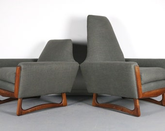 EXCEPTIONAL Adrian Pearsall His and Her Lounge Chairs - A Set of 2 Chairs