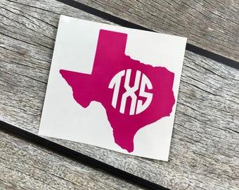 Texans Decal Etsy - Custom vinyl decals houston tx