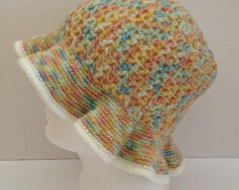 Crochet winter hat, crochet hat, wide brim hat, floppy brim hat, fedora, winter accessories, winter fashion, winter hat, womens hats, cap