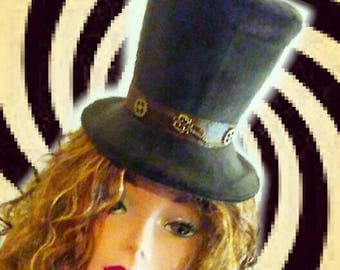 SAMPLESALE: STEAMPUNK HATTER accessory Hat
