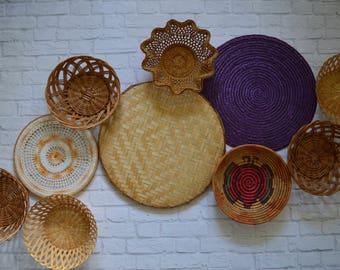 Vintage Basket Collection • Set of 10