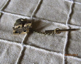 10K Gold CSCC Columbus State Community College Tie Tack Pin