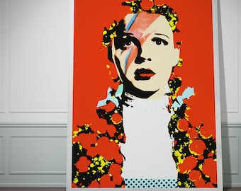 The Prettiest Star. Dorothy Gale, David Bowie print.