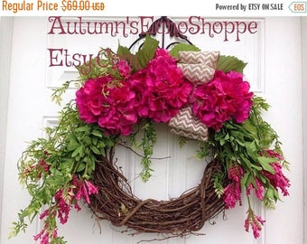 spring wreath for front doorSpring door wreaths  Etsy