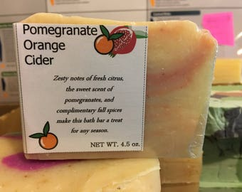 Handmade Natural Soap - Fruity Scents