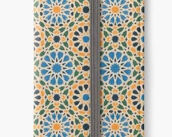Folio Wallet Case for iPhone 8 Plus, iPhone 8, iPhone 7, iPhone 6 Plus, iPhone SE, iPhone 6, iPhone 5s -  Mosaic Pattern Case