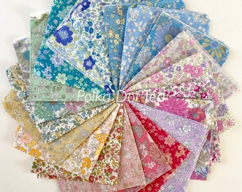 Memoire A Paris by Lecien on cotton LAWN  - Fat Quarter Bundle of 20 fabrics