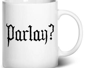 Parlay Coffee Mug, 11oz, White