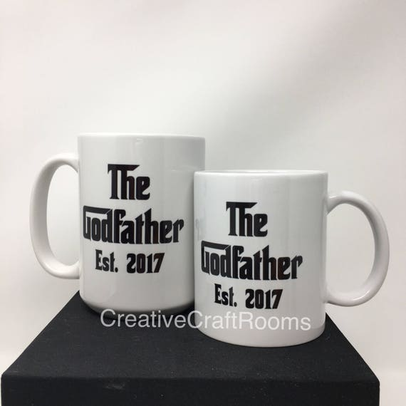 The Godfather Mug, Godfather Gift, Godfather Mug, Godfather Present, Be My, Will You Be My Godfather, Godfather Ornament, Christening Gift