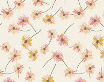 Fabric - Art gallery - jersey fabric - Indie Boheme Gitan Paradis Pearl Knit