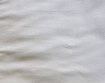 Fabric - cotton jersey fabric -  Cream cotton/elastane knit