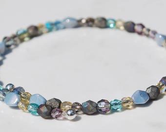Multi-colored stack bracelet