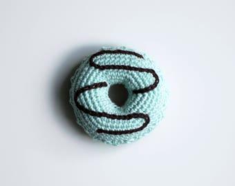 Crocheted donut